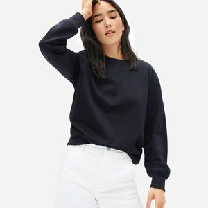 NWT Everlane Classic French Terry Crew